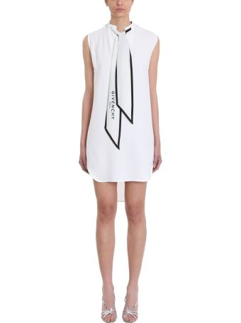 Givenchy Ascot Tie Mini Dress