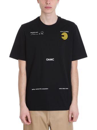 OAMC Schule Black Cotton T-shirt