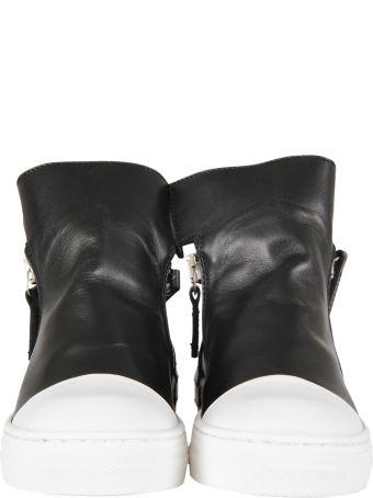 Cinzia Araia Black Ankle Boot For Girl