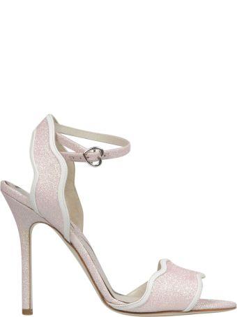 Francesca Bellavita Stardust Stiletto Sandals