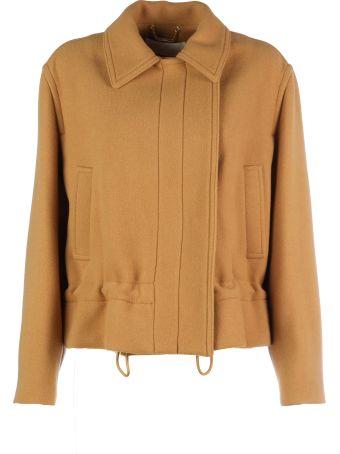Chloé Doublebreasted Elastic Waist Jacket