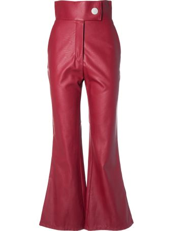 Sara Battaglia Bootcat High Waist Trousers