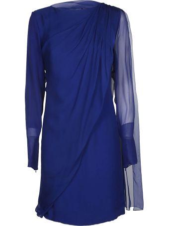 Lanvin Long-sleeved Mid-length Dress