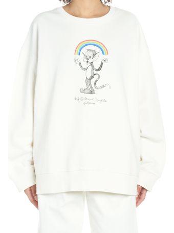 MM6 Maison Margiela 'gatto Raimbow' Sweatshirt