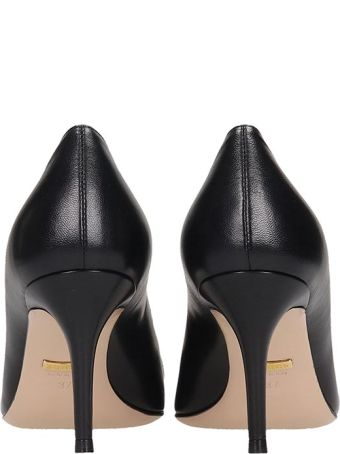 Gucci Pumps In Black Leather
