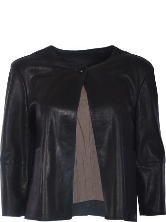 S.W.O.R.D 6.6.44 S.w.o.r.d Cropped Leather Jacket