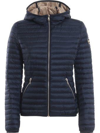 Colmar Punk Tech Fabric Hooded Puffer Jacket