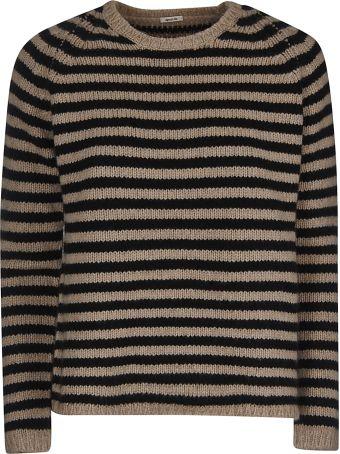 A Punto B A.b Stripe Knitted Sweater