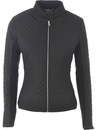 Colmar Knitted Paneled Biker Jacket