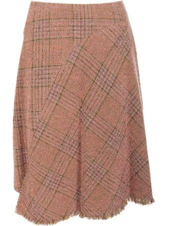 Acne Studios Checked Skirt