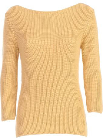 Gentry Sweater 3/4s Boat Neck W/ribs
