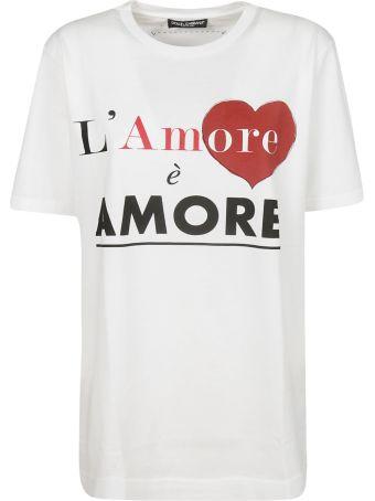 Dolce & Gabbana L'amore E Amore T-shirt