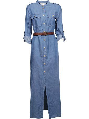 Michael Kors Denim Maxi Dress