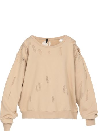Ben Taverniti Unravel Project Distressed Terry Sweatshirt