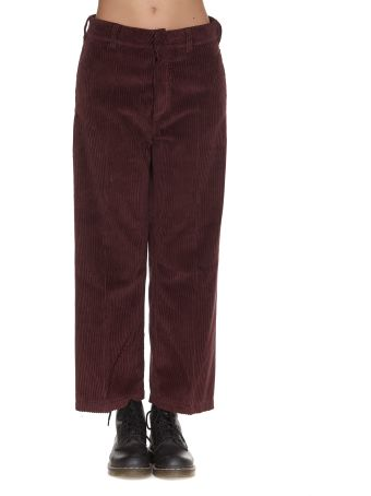 Department 5 Due Velvet Trousers