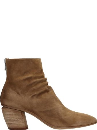 Officine Creative Browne Suede Severine Boots