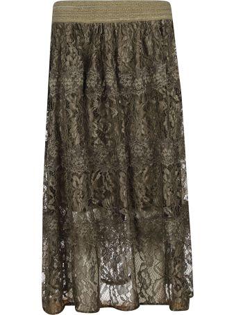 Blugirl Floral Lace Skirt