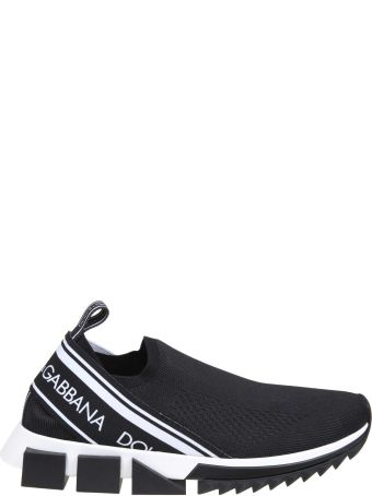 Dolce & Gabbana Sneakers Sorrento With Black Logo