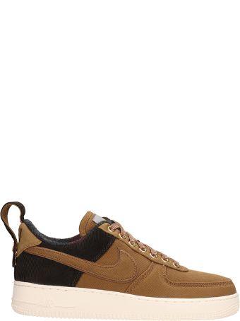 Nike Brown Fabric Air Force 1 07 Prm Wip Sneakers