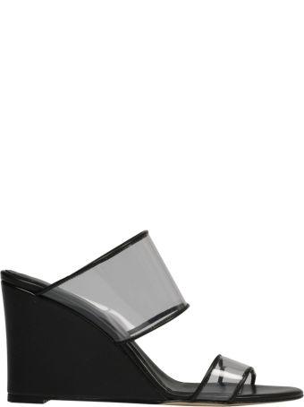 Paris Texas Transparent Strap Sandals
