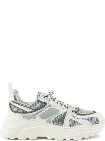 Cinzia Araia White Leather Sneakers