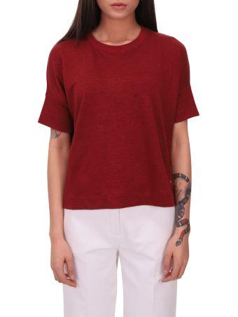 Loro Piana Burgundy T-shirt