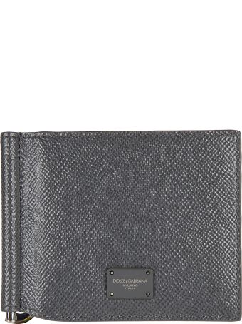 Dolce & Gabbana Logo Patched Wallet