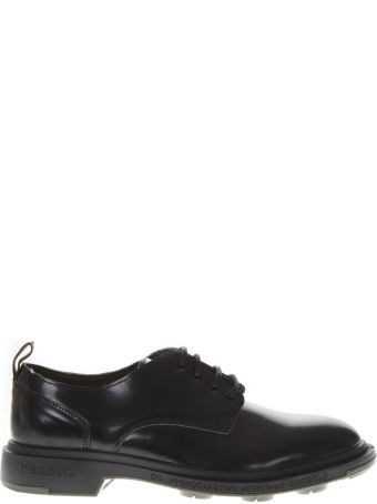 Pezzol 1951 Black Leather Lace Up Shoes