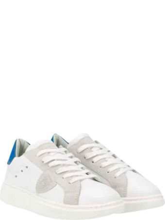 Philippe Model White Shoes Teen