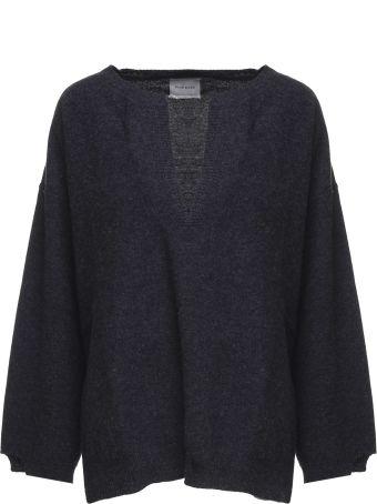 Fine Edge Bell-sleeve Wool Sweater