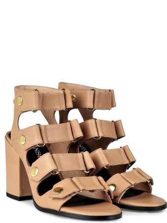 Senso Stella Leather Strappy Sandals