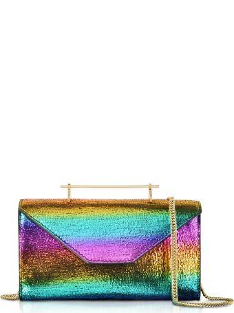 M2Malletier Metallic Rainbow Belt Bag