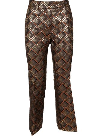 True Royal Patterned Trousers
