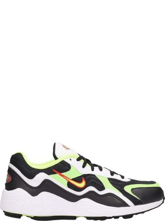Nike Black And Yellow Fabric Air Zoom Alpha Sneakers