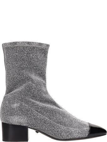 Schutz Glitter Sock Ankle Boots