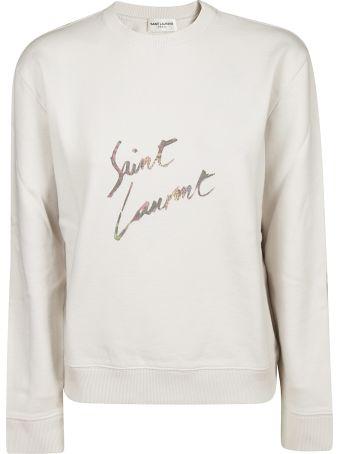 Saint Laurent Signature Sweatshirt