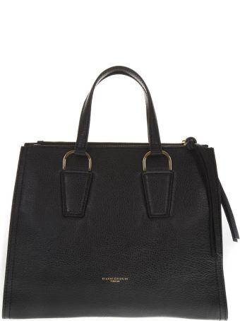Gianni Chiarini Black Leather Handbag