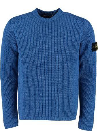 Stone Island Ribbed Cotton Sweater