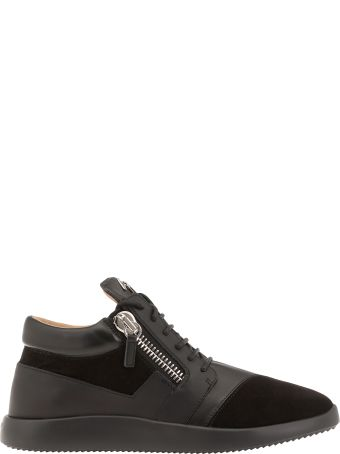 Giuseppe Zanotti Smooth Leather Sneakers