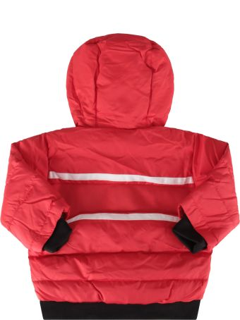 Givenchy Red Jacket For Baby Boy With Logo