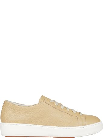 Santoni Lace Up Classic Sneakers