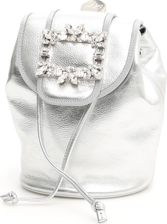 Roger Vivier Rv Broche Mini Backpack