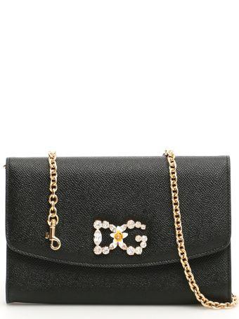 Dolce & Gabbana Crystal Dg Wallet Bag