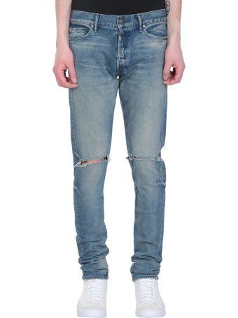John Elliott The Cast 2 Blue Denim Jeans