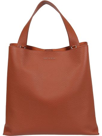 Orciani Logo Plaque Tote