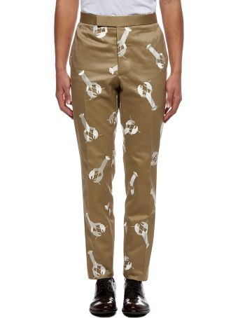 Thom Browne Lobster Embroidery Trousers