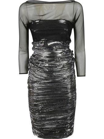 La Petit Robe Di Chiara Boni Lace Detail Dress