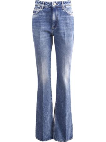 "The Attico ""vitto"" Jeans In Denim Washed"
