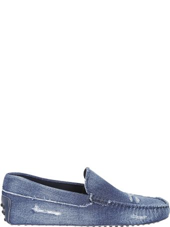 Tod's Denim Driving Shoes