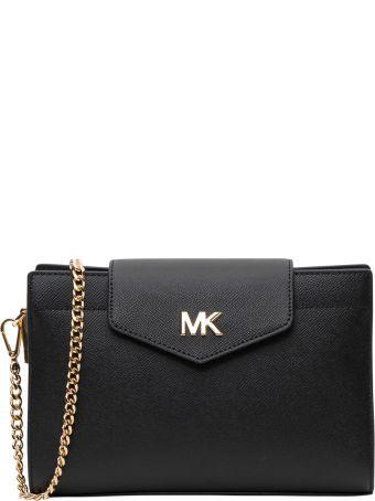 MICHAEL Michael Kors Grossgrain Leather Crossbody Bag